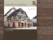 Tablet Preview of hotelpension-eulenburg.de